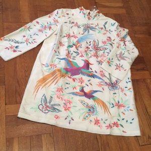 ASOS Dresses - ASOS kimono Mini Dress Party 14 embroidered Asian